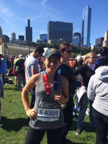 Chicago 2016: 112lbs => 4:10:33